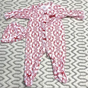 My 1st Christmas Red and White Unisex Onesie